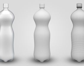 Fanta Bottle 2 Ltr 3D