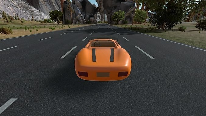 racing level for unity 3d model max fbx unitypackage prefab 1