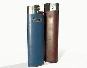 3D asset Disposable lighters
