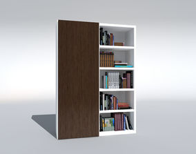 cupboard 3D hardcover-book