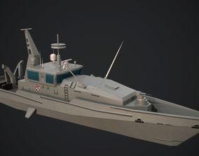 3D model Armidale Class Patrol Boat
