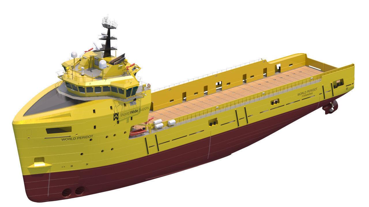 Platform Supply Vessel World Peridot