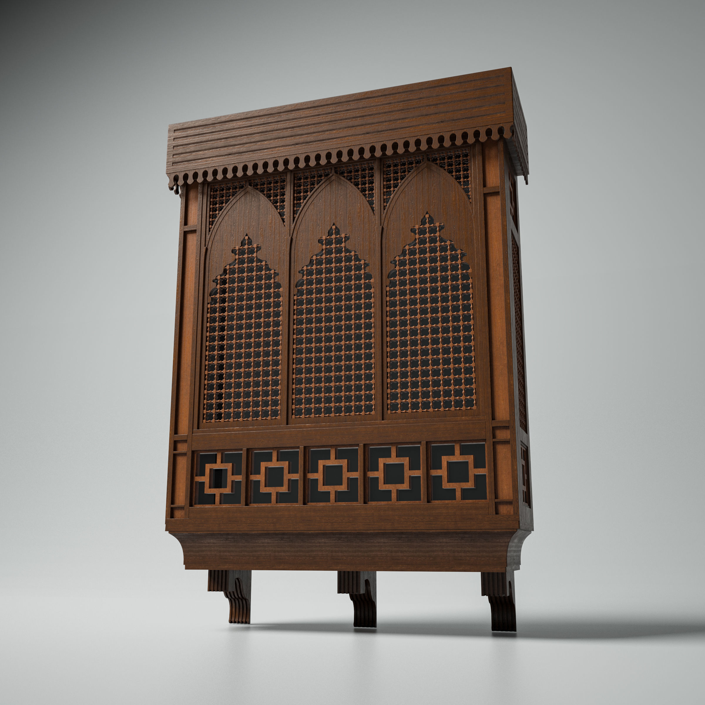 Islamic Window Mashrabiya