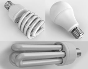 power Lamp Collection 3D