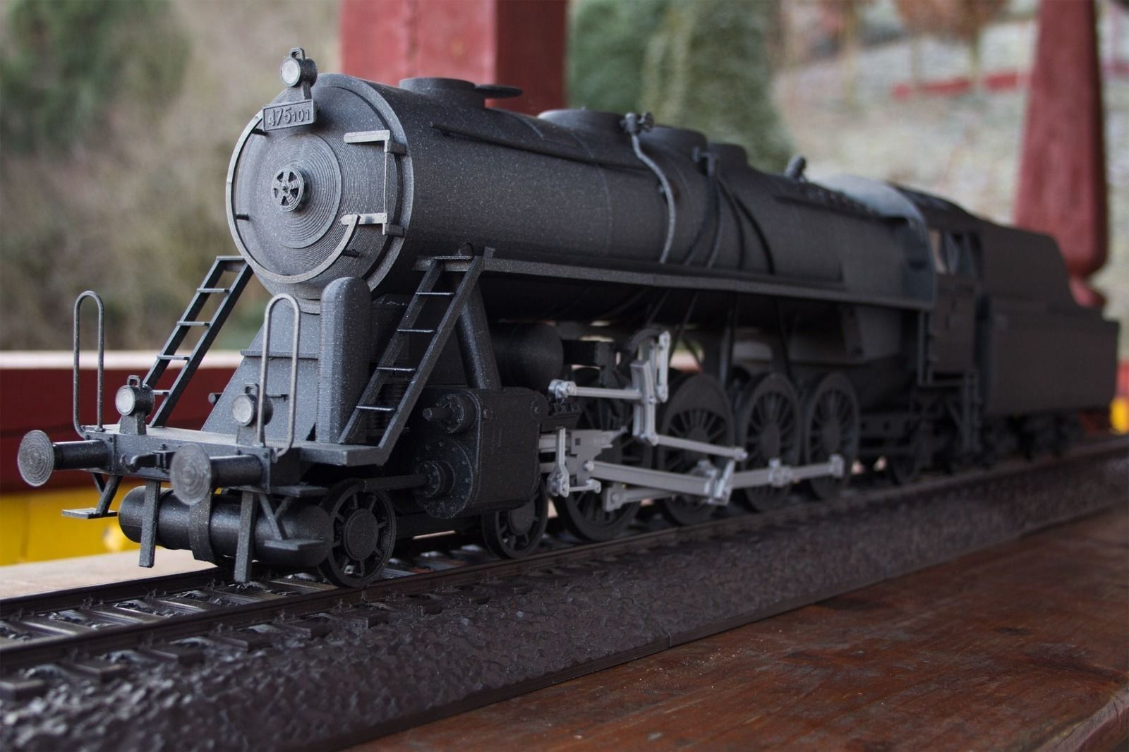 3d Printable Model Steam Train Noblewoman With Tender