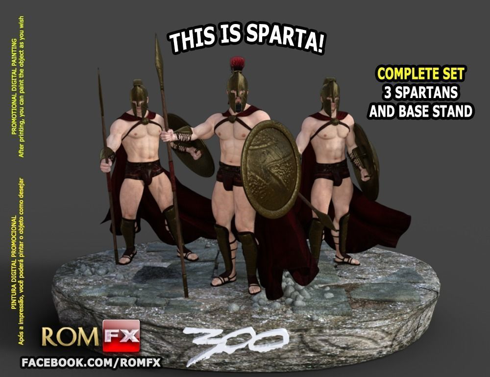 300 from Sparta - Complete full kit printable - Must get this