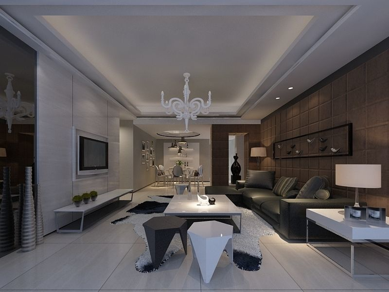Modern Drawing Room - 02