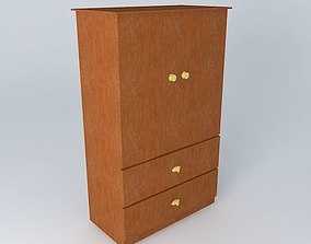 cabinet 3D Wooden Cupboard