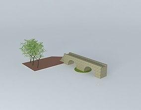 tree 3D model Bridge