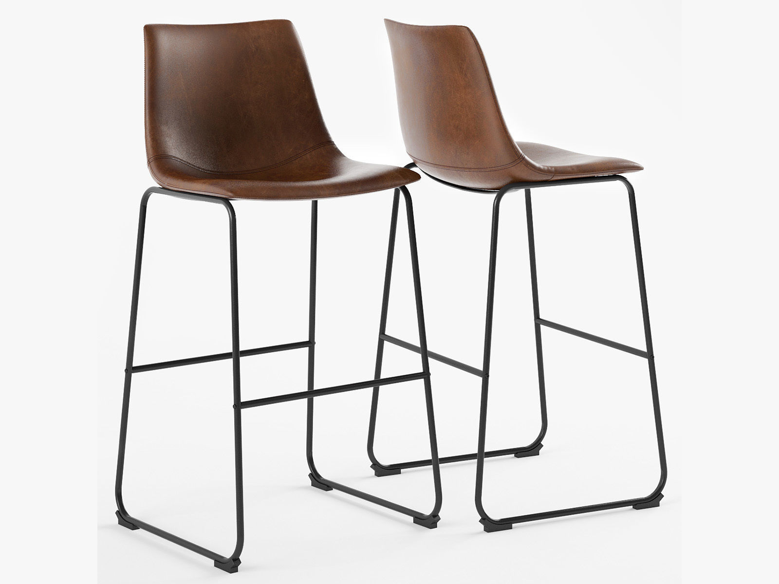 Fantastic Centiar Adan Bar Stool 3D Model Beatyapartments Chair Design Images Beatyapartmentscom