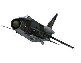 English Electric Lightning F6 3D