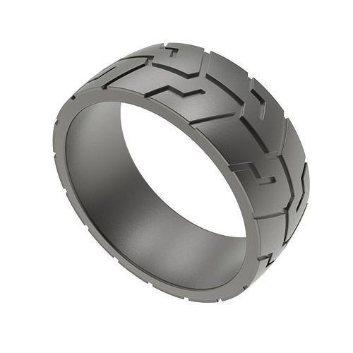men ring wheel tiretread 3d model obj mtl fbx stl 3dm skp stp 1