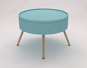 SIDE TABLE---Chest and quadripod 3D