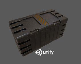 3D asset Sci-Fi Crete