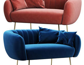 Cult Living Effie Sofa 3D