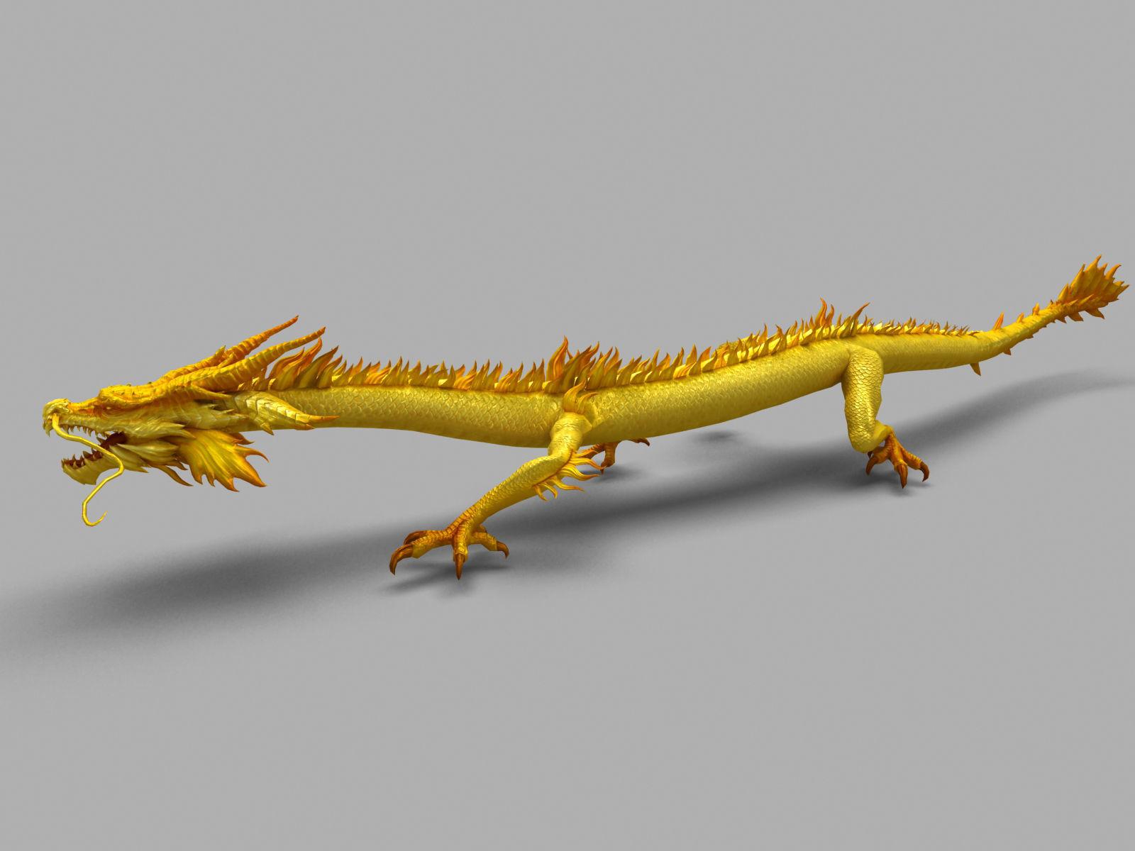 Chinese Dragon Animation