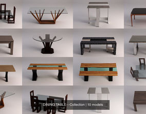 DINING TABLE---Collection 3D model