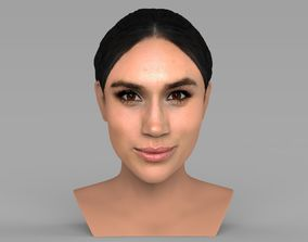 Meghan Markle bust ready for full color 3D printing