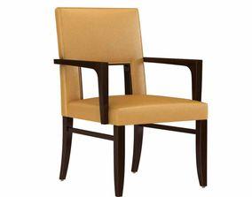 Charter furniture Esham Dining Arm Chair 3d model