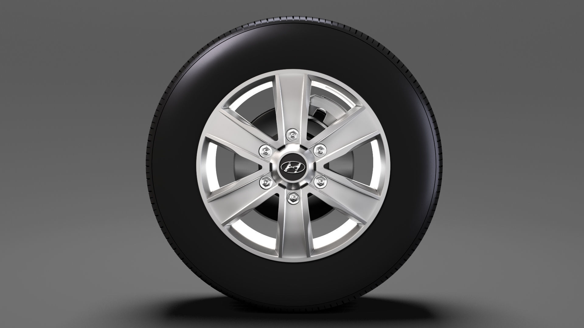 Hyundai H350 Van wheel 2017