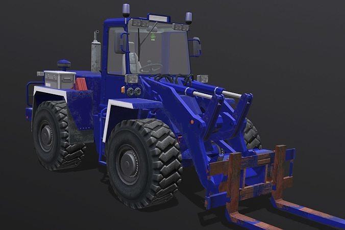 zettelmeyer zl 3d model obj mtl fbx blend 1