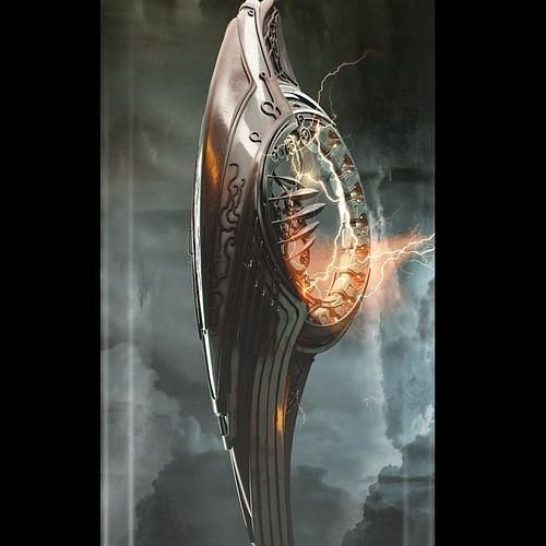alien spaceship 3d model obj mtl fbx blend 1