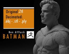 Ben Affleck Batman without mask 3D printable model