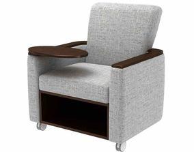 Kwalu sassari lounge chair 3d model