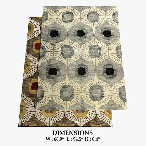 allmodern rugs 285 3d model max obj mtl fbx 1