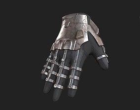 3D asset Scifi Gloves