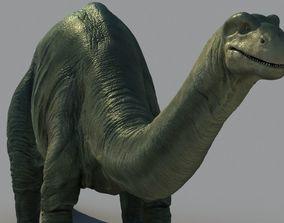 Brontosaurus-Animated 3D model