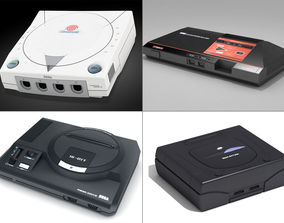 3D Sega consoles vol 1 megadrive