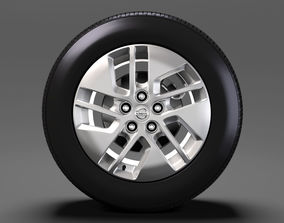 3D Nissan NV Combi wheel 2017