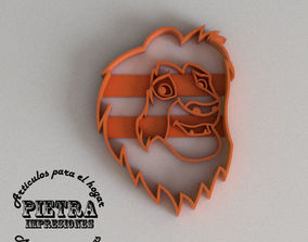 3D printable model MUFASA MOLDE CORTANTE PARA GALLETAS 3