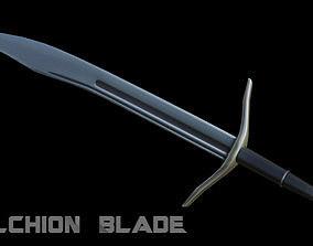 3D model Falchion Blade
