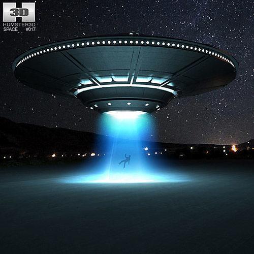 the ufo 3d model max obj mtl 3ds fbx c4d lwo lw lws 1