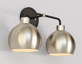 Young House Love Bubble Vanity Light 3D model