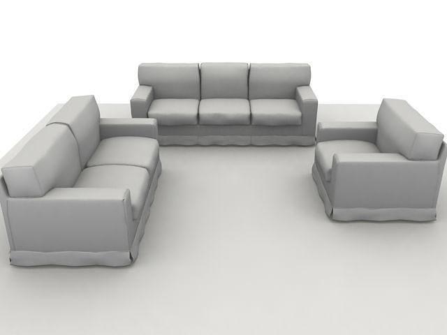 america sofa composition scanline 3d model max obj mtl 3ds fbx 1