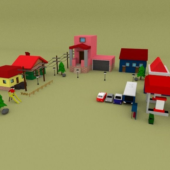 Low Poly Pack