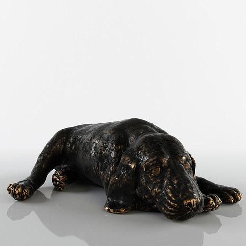 beagle sculpture 3d model max obj mtl stl cga cgf chr skin 1