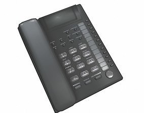 3D model realtime Office Phone