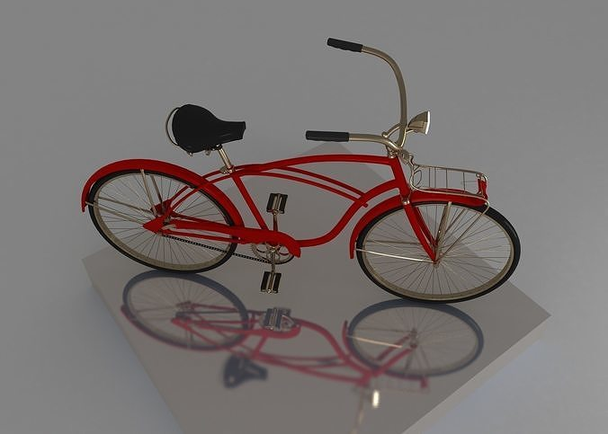 bicycle 3d model max 1