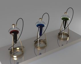 hookah smoke 3D model