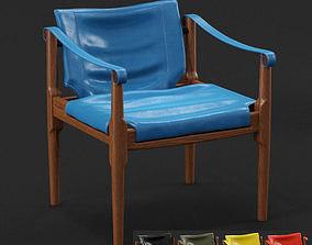 3D model Douglas Heaslet Mid Century Modern Safari Chair