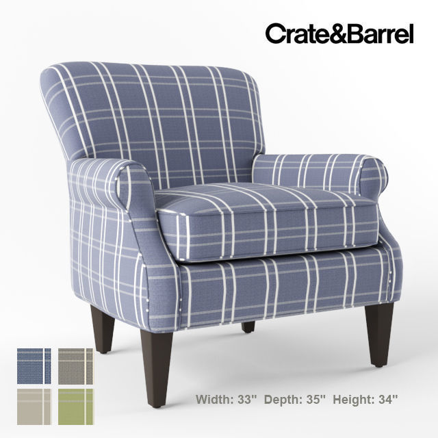 Crate and Barrel Elyse chair