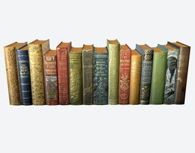 Books Pack 3 3D model