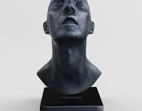 Lotta Blokker Uccello head sculpture 3D model