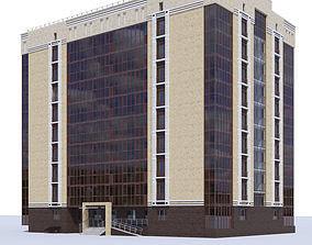 Residential building apartment 3D model