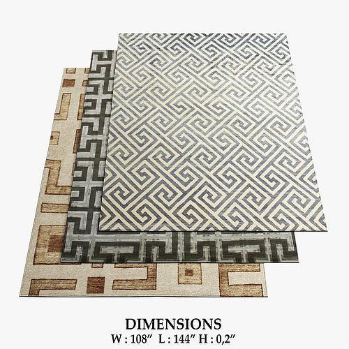 fayette rugs 327 3d model max obj mtl fbx 1
