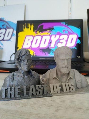 the last of us - statue  3d model stl 1